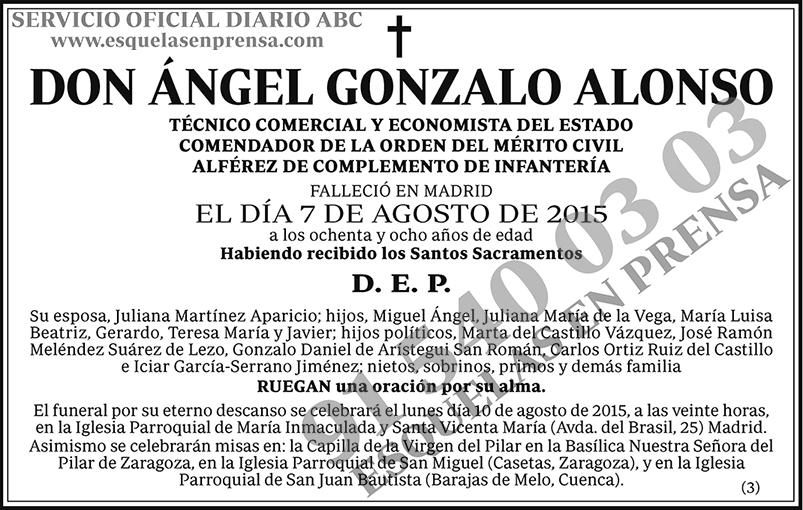 Ángel Gonzalo Alonso